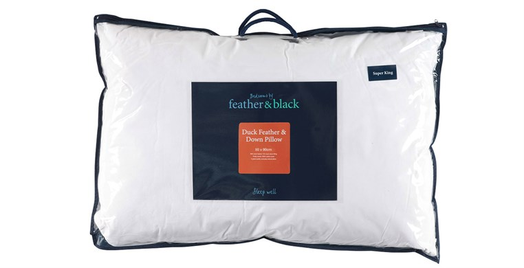 Duck Feather & Down Super King Pillow Firm